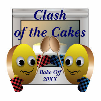 Cake Baking Contest Statuette