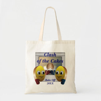 Cake Baking Contest Tote Bag