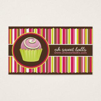 Cake Balls Business Cards