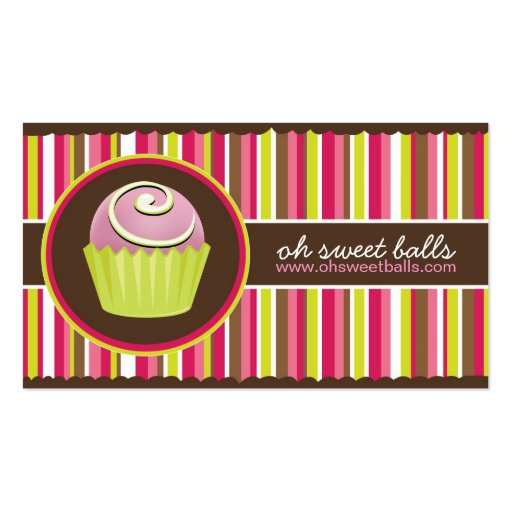 Cake Balls Business Cards