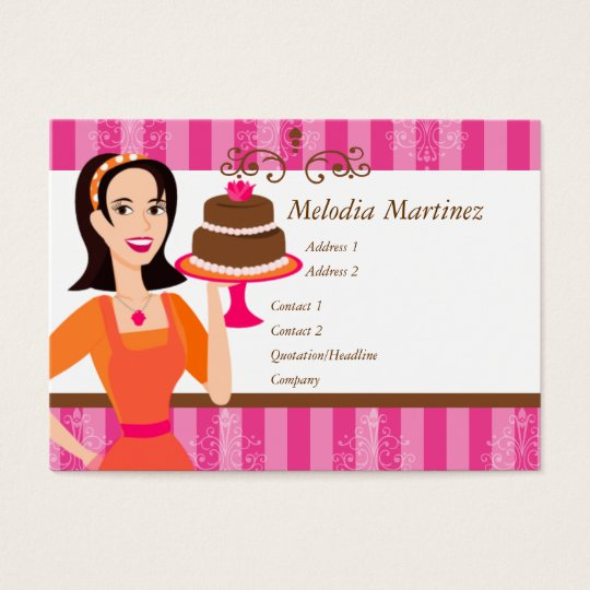 Cake Beauty Business Card