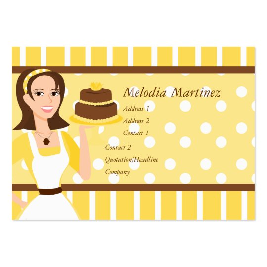 Cake Beauty Large Business Card