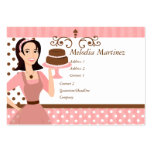 Cake Beauty Large Business Cards (Pack Of 100)