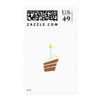 Cake Birthday Party Set Postage Stamps