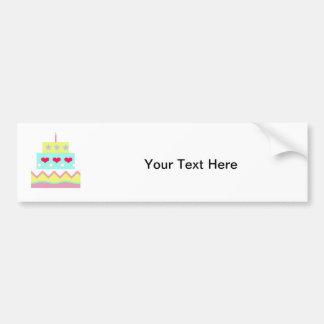 Cake! Bumper Sticker