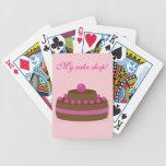 Cake cards poker deck