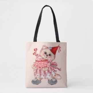CAKE CAT CARTOON All-Over-Print Tote Bag MEDIUM