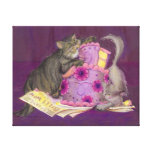 Cake Cats Collection Canvas Prints