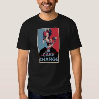 Cake/Change:  Marie Antoinette & Barack Obama T-Shirt