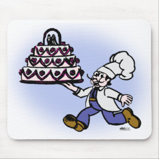 Cake Chef Mouse Pad
