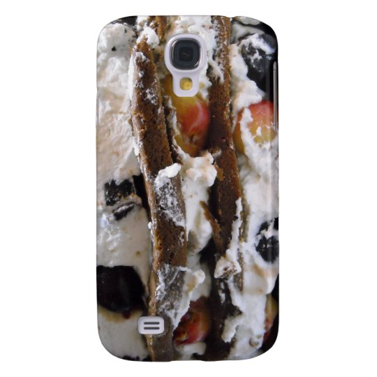 Cake,Cherries & Whipped Cream 3G/GS  Samsung S4 Case