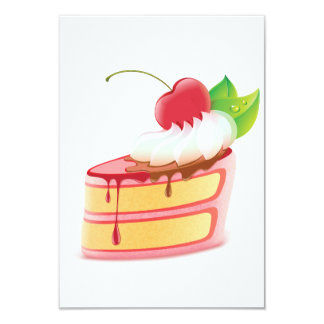 Cake Dessert Invitations