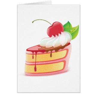 Cake Dessert Note Cards