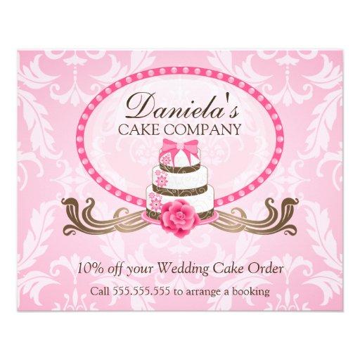 Cake Decorating Course Voucher : Cake Discount Voucher Flyer Zazzle