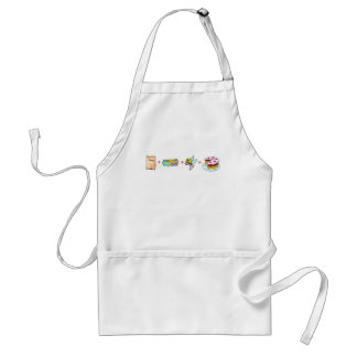 Cake Equation Adult Apron