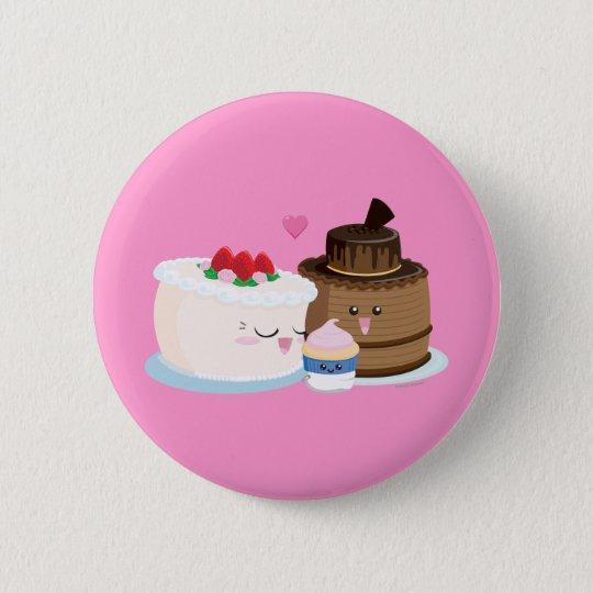 Cake Family Button