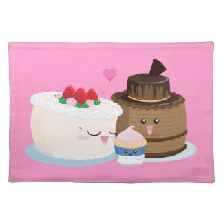 Cake Family Cloth Placemat