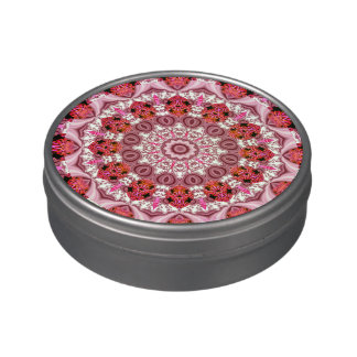 Cake Frosting, Abstract Jelly Belly Tins