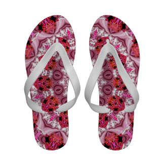 Cake Frosting, Abstract Sandals