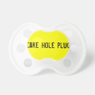Cake Hole Plug Pacifier