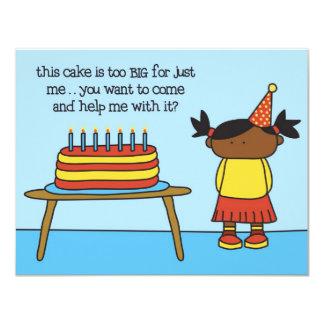 Cake - Invitation