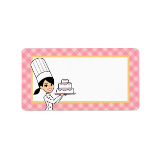 Cake Label in Medium