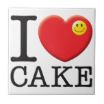 Cake Love Ceramic Tile