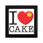 Cake Love Trinket Boxes