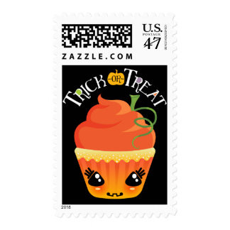 Cake-O-Lantern Trick-Or-Treat Halloween Postage