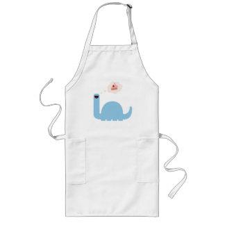 Cake-o-saurus baking long apron