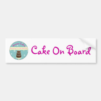 Cake On Board Bumper Sticker