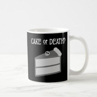 Cake or Death? Classic White Coffee Mug