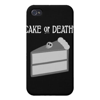 Cake or Death? Cover For iPhone 4