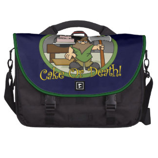 Cake or Death Bags For Laptop