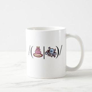 Cake or Death- Regular Expression Coffee Mug