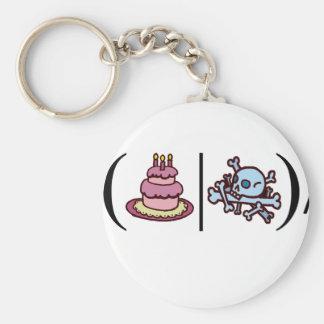 Cake or Death- Regular Expression Keychain