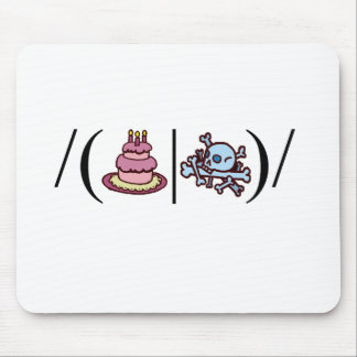 Cake or Death- Regular Expression Mouse Pad