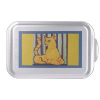 Cake Pan with Yellow Cat
