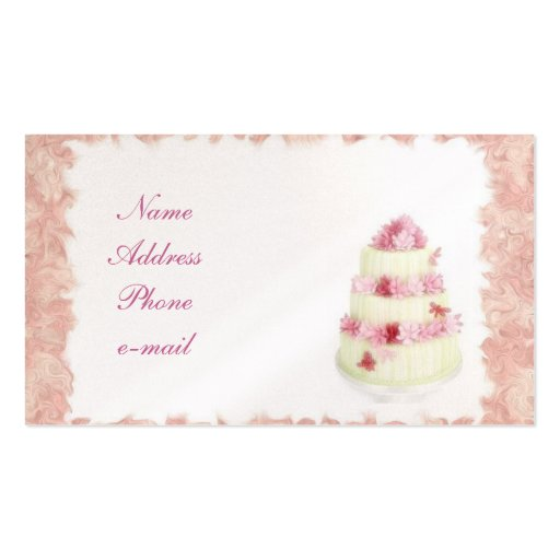 Cake/Pastry Shop Business Cards