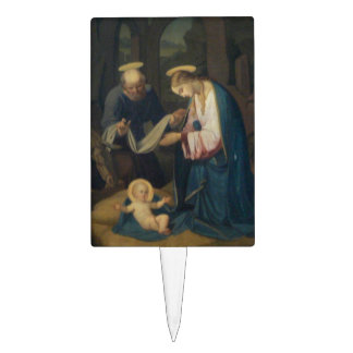 Cake Pick: Birth of Christ Cake Topper