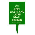 [UK Flag] keep calm and love niall horan  Cake Picks