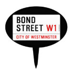 Bond Street  Cake Picks