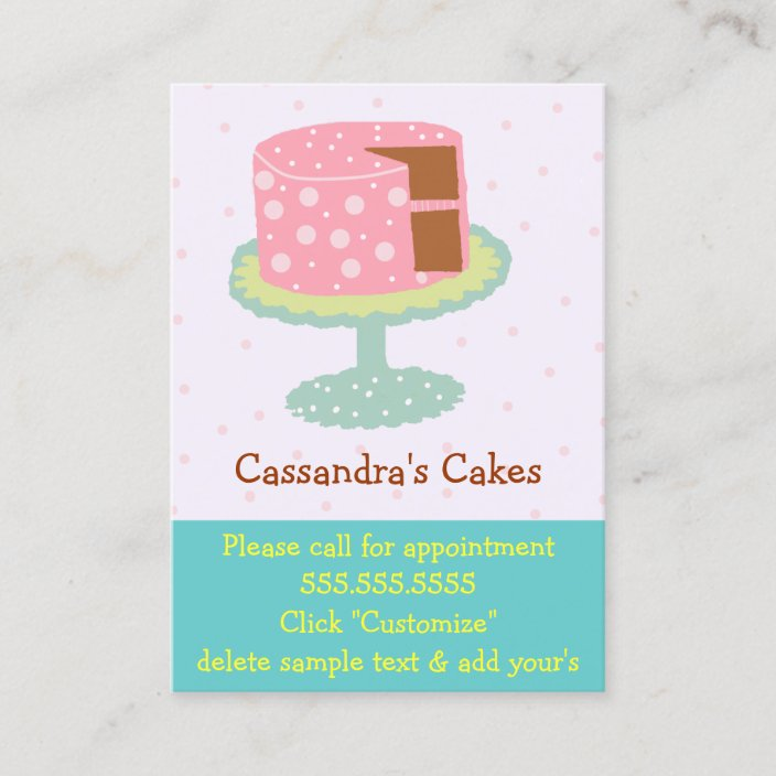 Chalk Green Wine Grapes Personalized Business Cards
