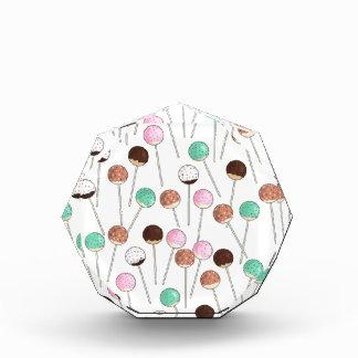 Cake Pop Design Acrylic Award