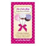 Cake Pop Dots Business Card