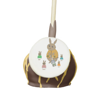 Cake Pop vanilla with chocolate icing