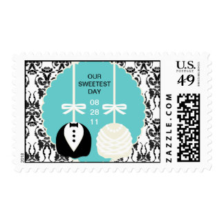 Cake Pop Wedding Stamps