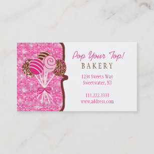 cake business cards  Cake Business Cards | Zazzle