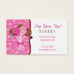Cake Pops Bakery : Business Card at Zazzle
