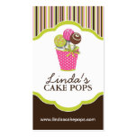Cake Pops Bakery Cards Double-Sided Standard Business Cards (Pack Of 100)